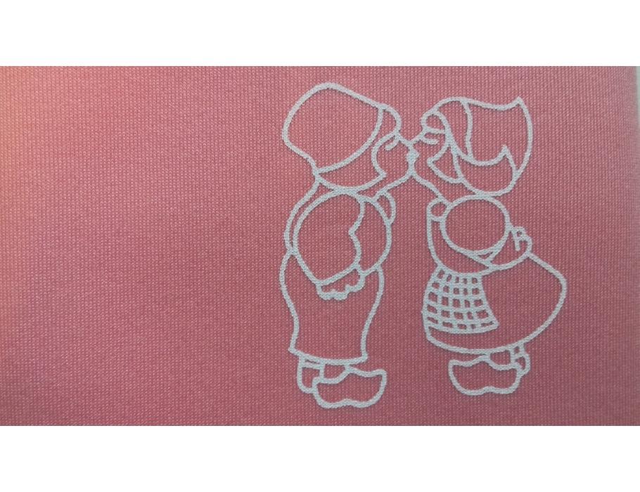 Retulp sleeve - roze setje