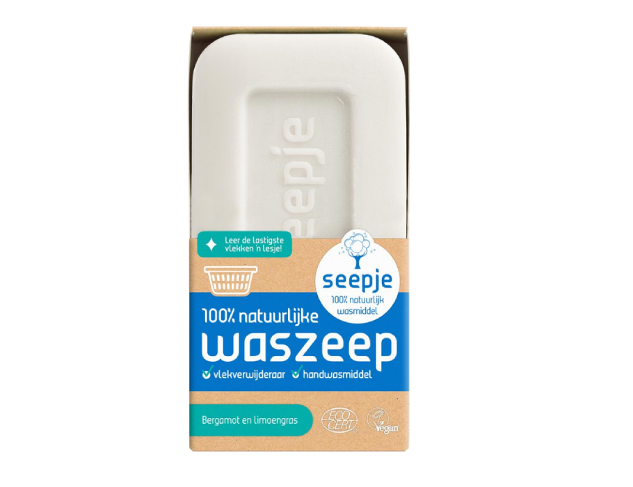 Vaste Waszeep - Bergamot en Limoengras