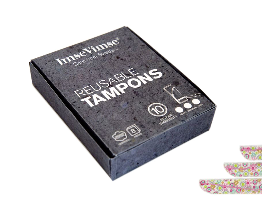 Wasbare Tampons - Flower - Medium - 8 st.