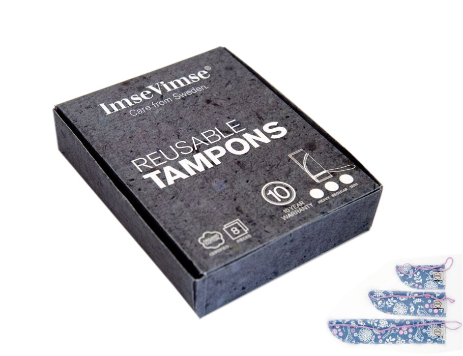 Wasbare Tampons - Maxi - 8 st. Garden