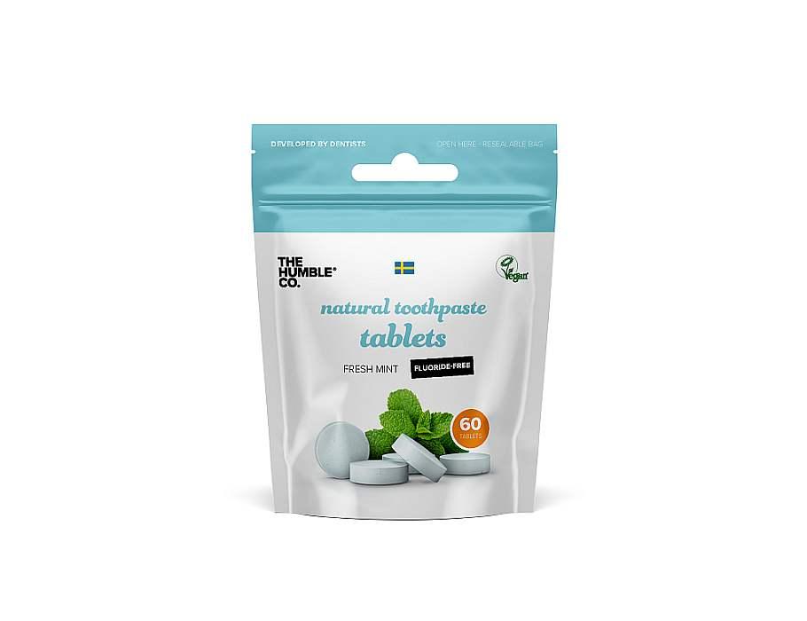 Tandenpoets tabletten zonder fluoride