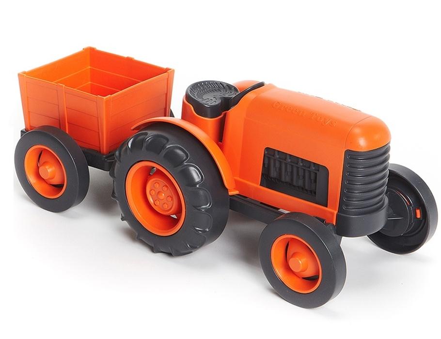 tractor-oranje