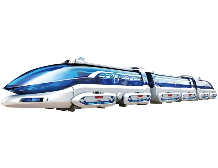 Zwevende trein - magnetisch