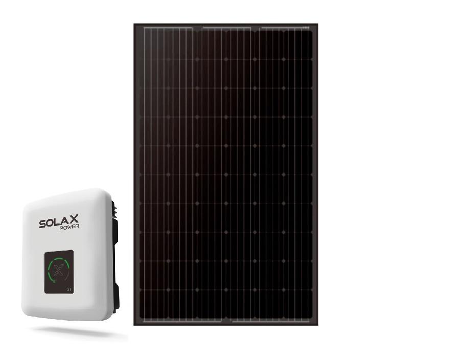 Zwarte mono zonnepanelen - 10 stuks - 2900wp