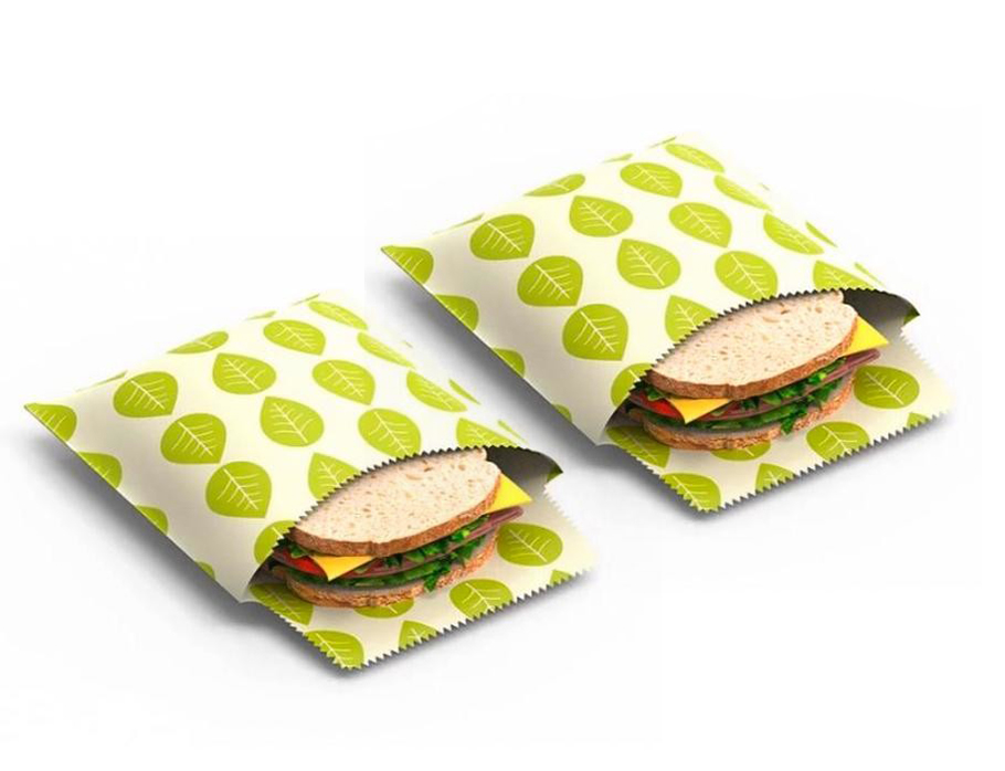 Vegan Sandwich Wrap Set van 2