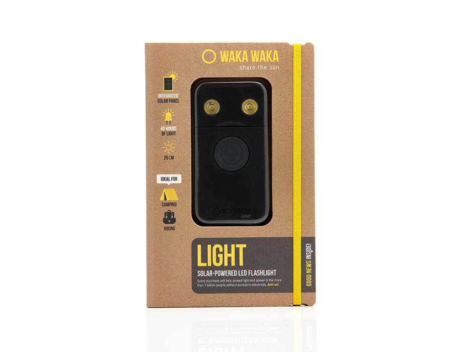 WakaWaka - Light - Black