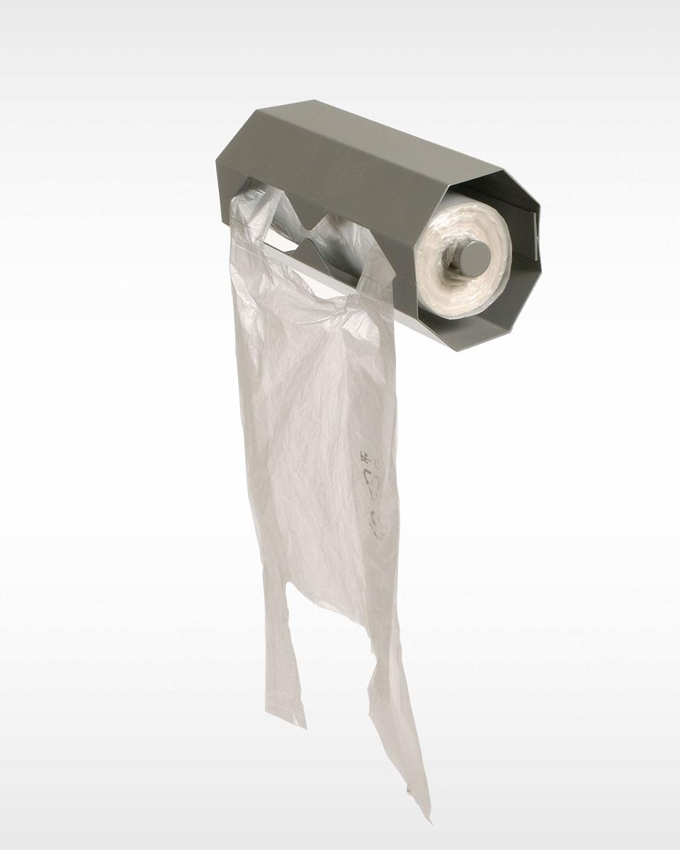 Dispenser Boodschappentasjes muurbevestiging