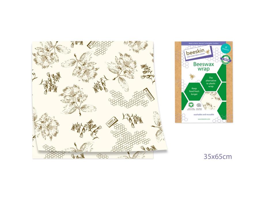 Bijenwasdoek Extra Large - 35x65 - Flower print