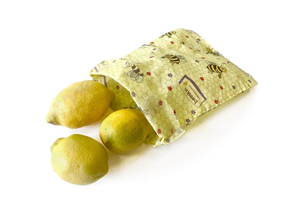 Bijenwas lunchbag Small - Kids print