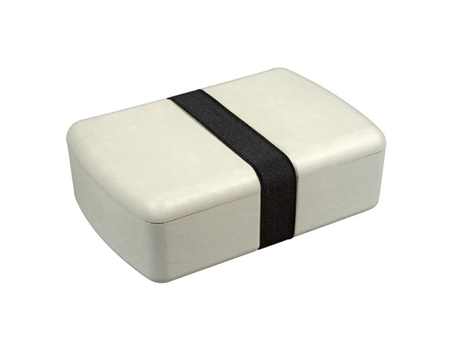 Lunchbox aus Biokunststoff - Coconut White