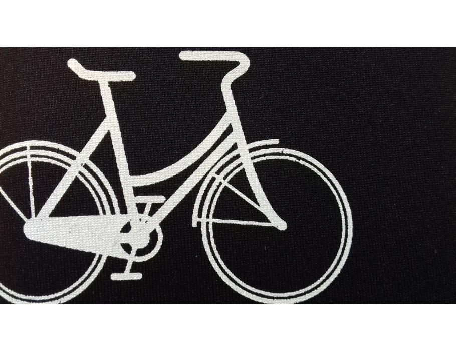 Retulp sleeve - zwart fiets