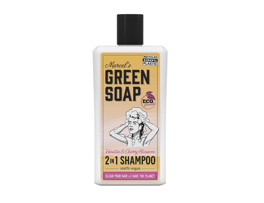 Shampoo - Vanille & Kersenbloesem - 500ml