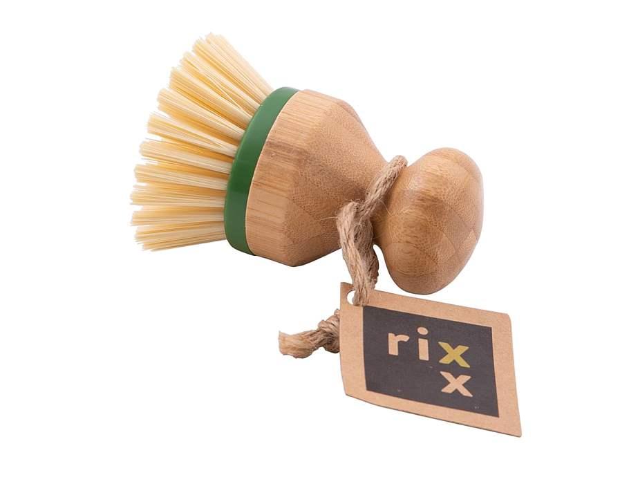 Afwas Knop Bamboe met vervangbare kop