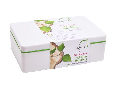 Lunch box Natur lime - middel
