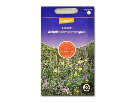 Biologische bloemen Akkerbloemenmengsel