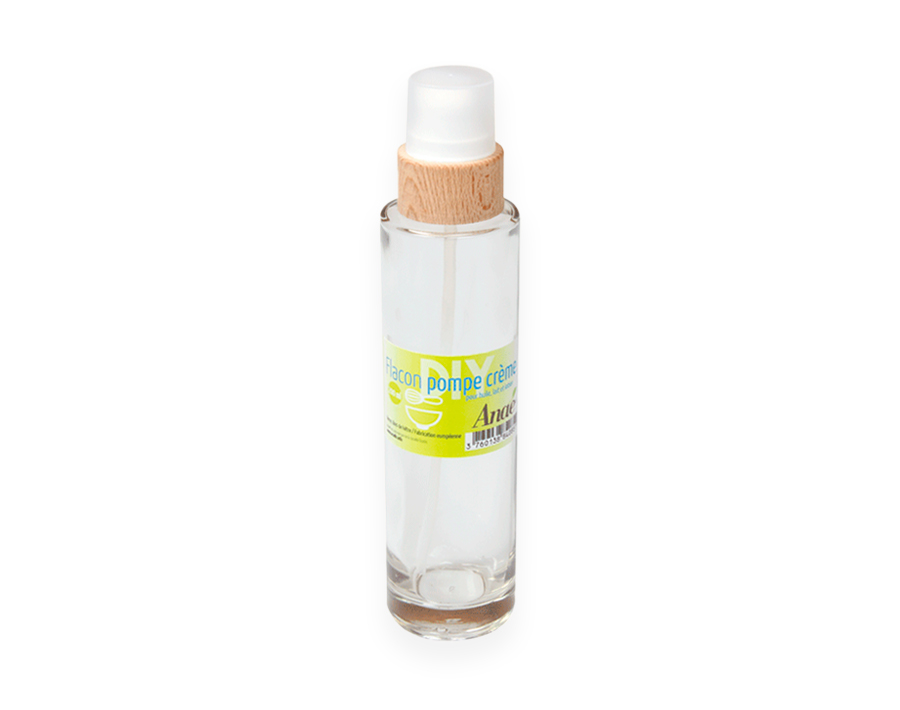 Glazen Pompflacon Crème - 200 ml