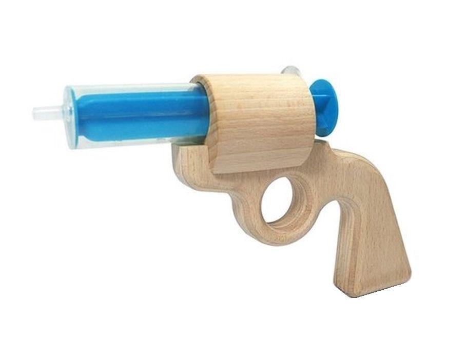 Wasserpistole aus Buchenholz