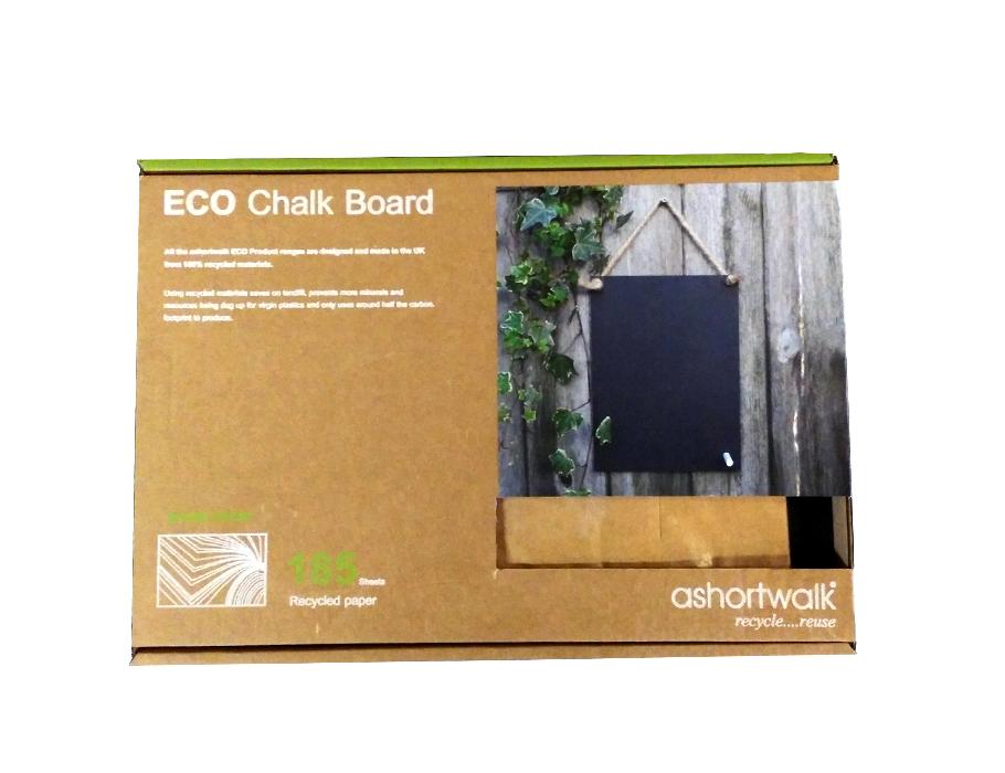 ECO Chalk Board - krijtbord incl. krijtje en touw