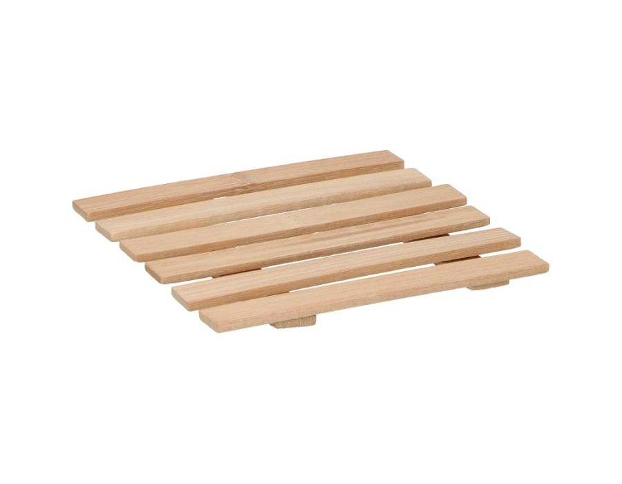Onderzetter pan - bamboe