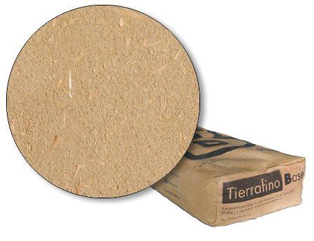 Basis leem zak bruin met stro - oude kleur