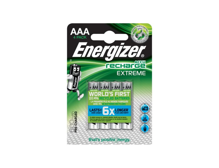AAA Wiederaufladbare Batterien