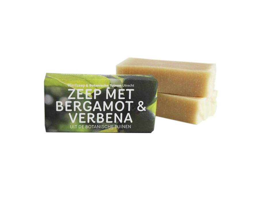 Seife - Botanischer Garten - Bergamotte & Eisenkraut