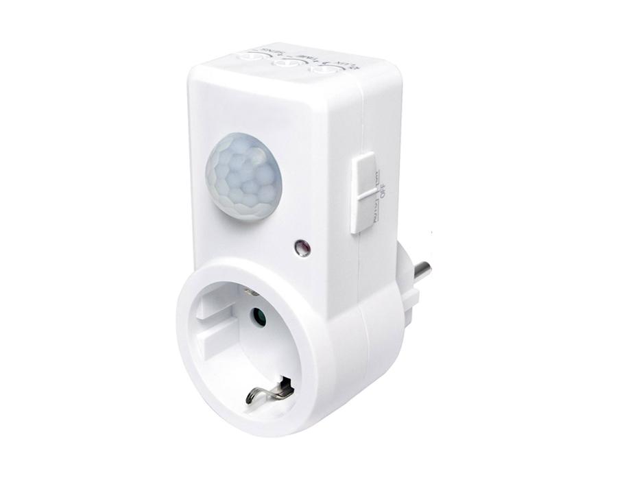 PIR Bewegingsmelder plug-in  - wit