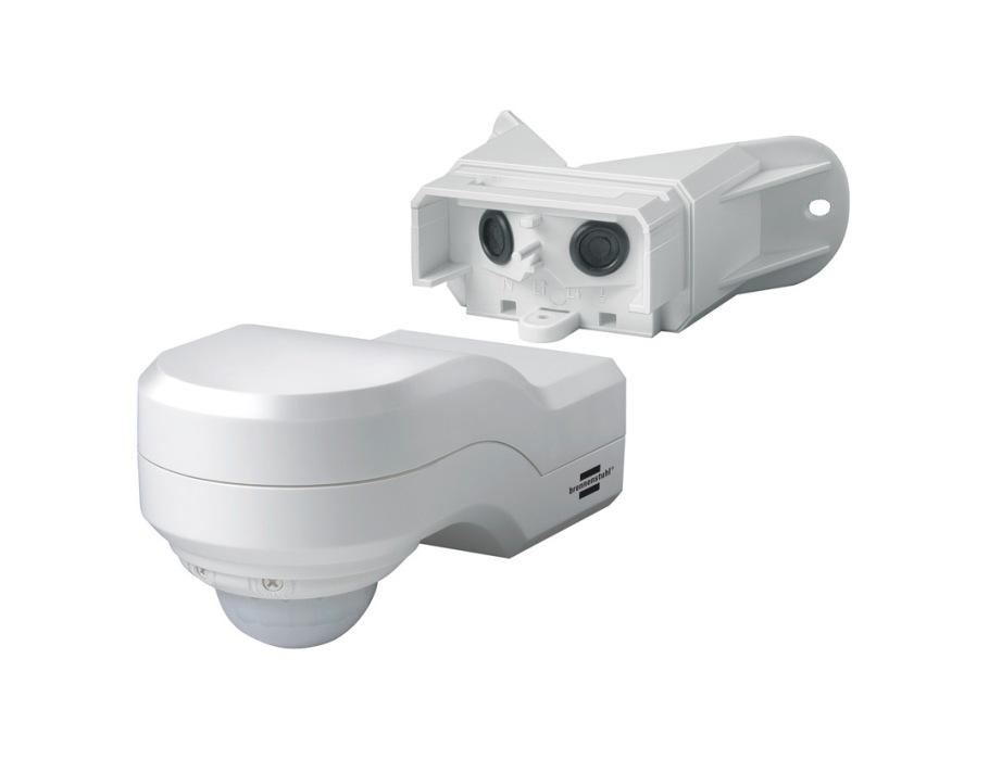 Bewegingsmelder infrarood - 240 graden - Wit