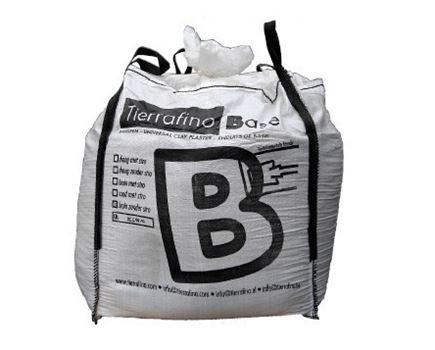 Basis leem bigbag - bruin - met stro - Oud recept