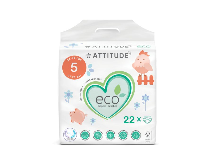 Luiers Wegwerp Eco 5 (11-25 kg)