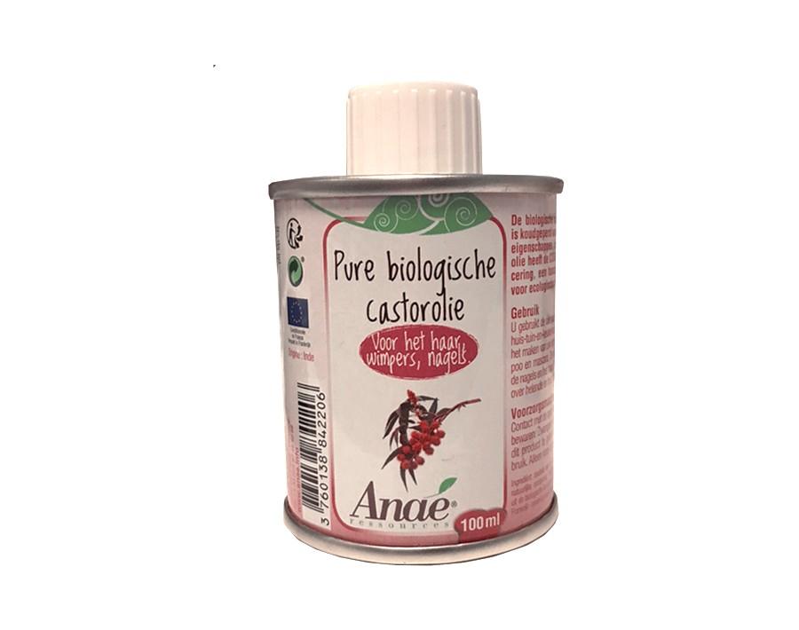 Castor olie - organisch & koudgeperst 100 ml