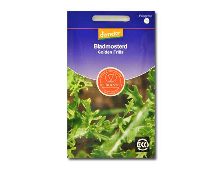 Biologische groenten Bladmosterd