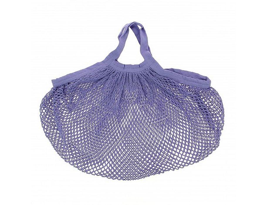 Katoenen boodschappentas - lila