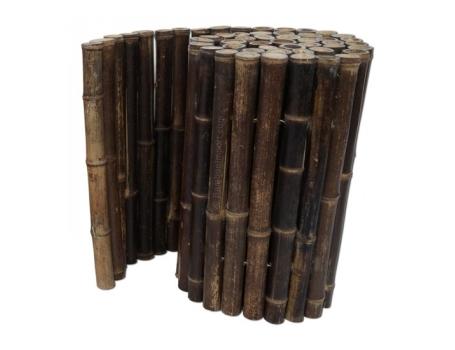 Bamboe Borderrol - Zwart