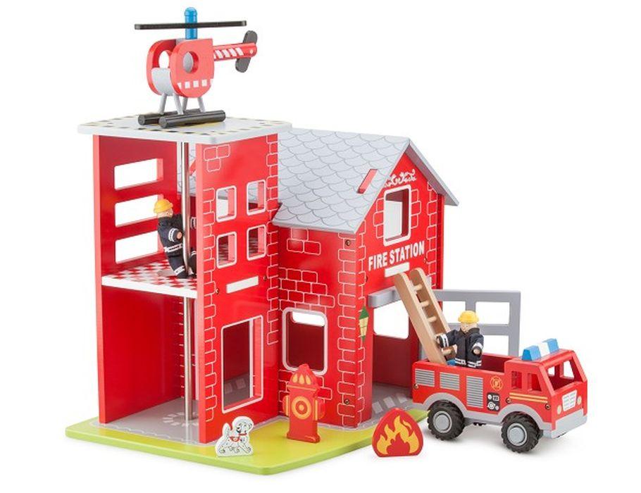 Feuerwehrhaus - Holz