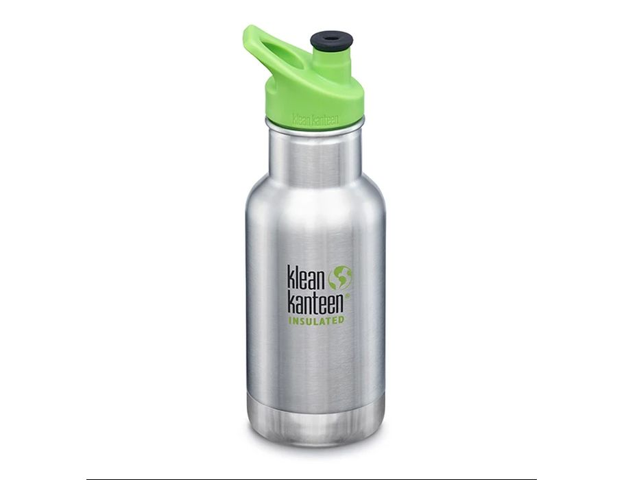 12 oz / 355 ml Kid Kanteen - VI geisoleerd - Brushed