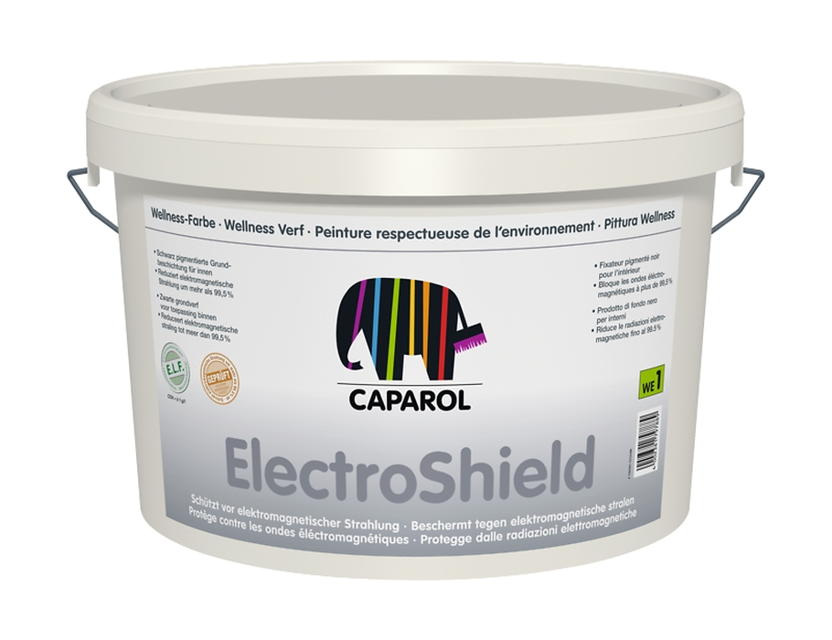 caparol caparol innenfarbe electroshield eco logisch webshop. Black Bedroom Furniture Sets. Home Design Ideas