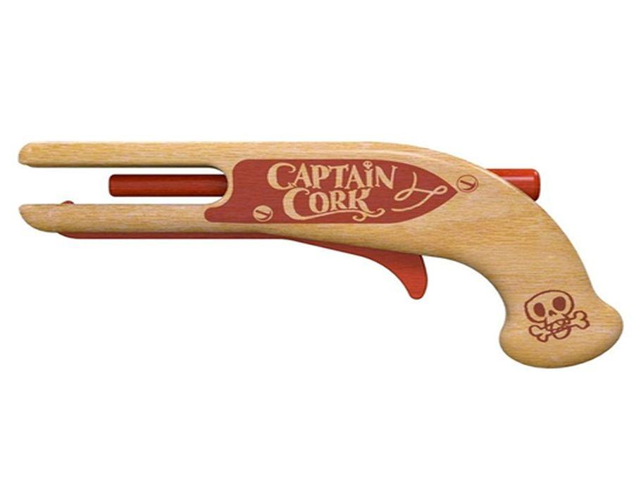 Captain Cork - Kurkpistool van Beukenhout