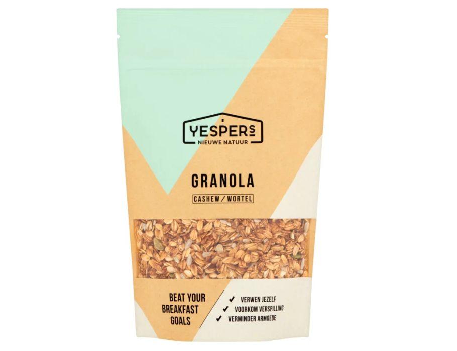 Granola Cashew & Wortel