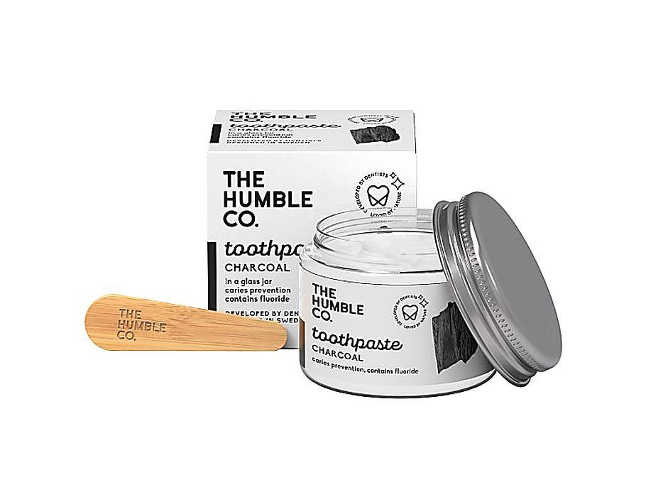 Tandpasta Zero Waste - Charcoal met fluor - 50ml