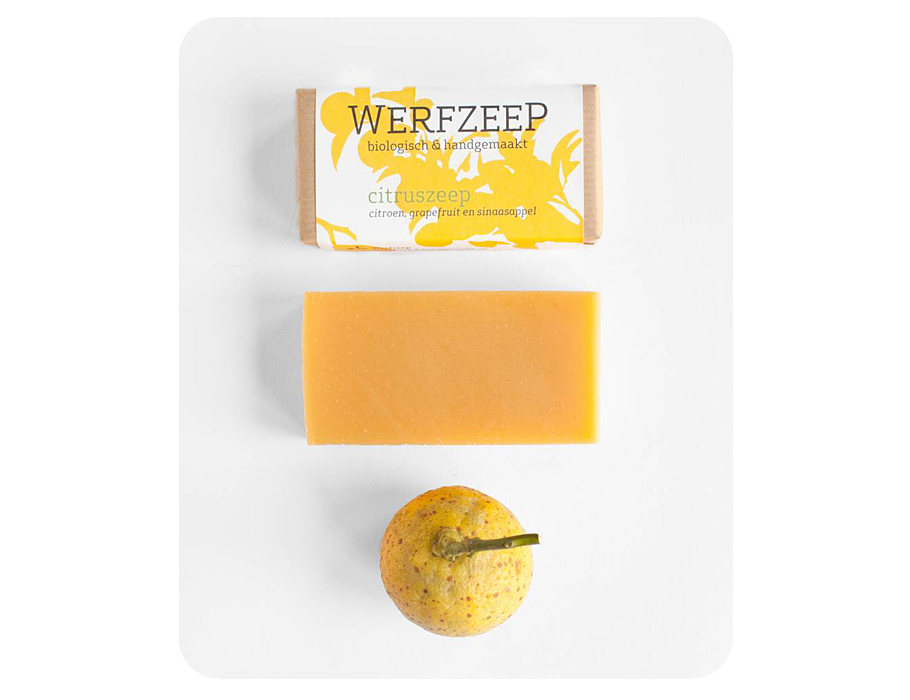 Werfzeep citruszeep - 100 gr