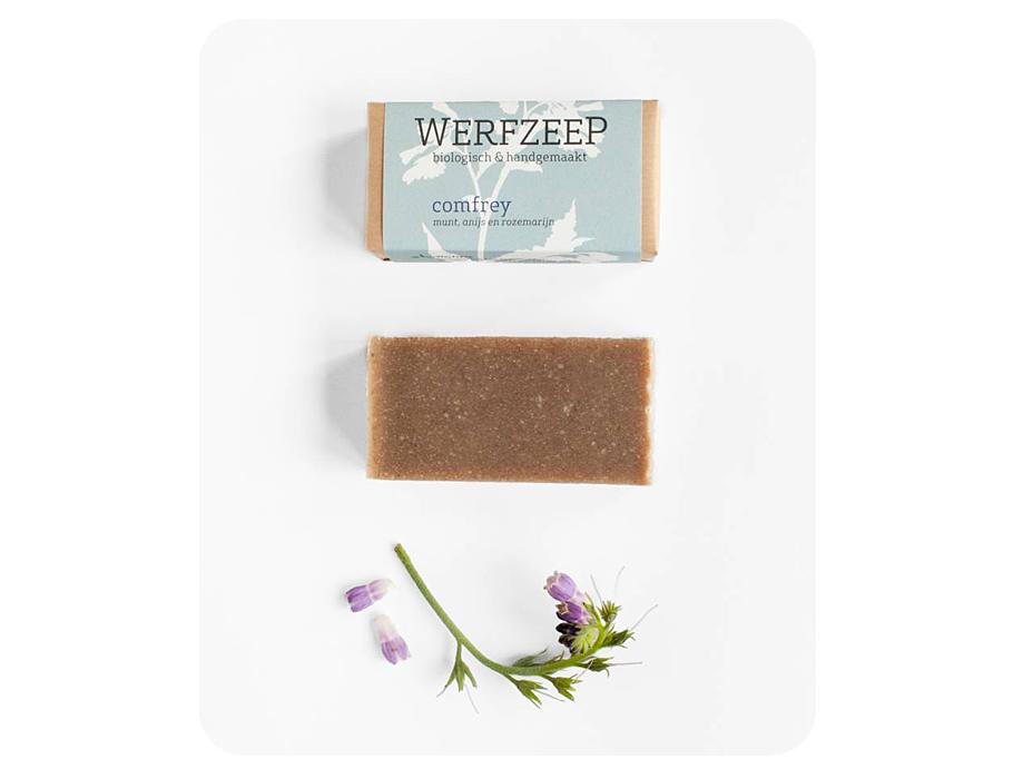 Werfzeep comfreyzeep - 100 gr