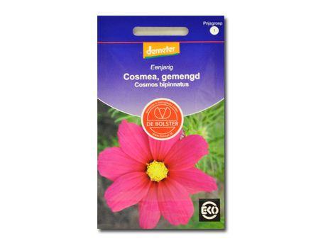 Biologische bloemen Cosmea gemengd