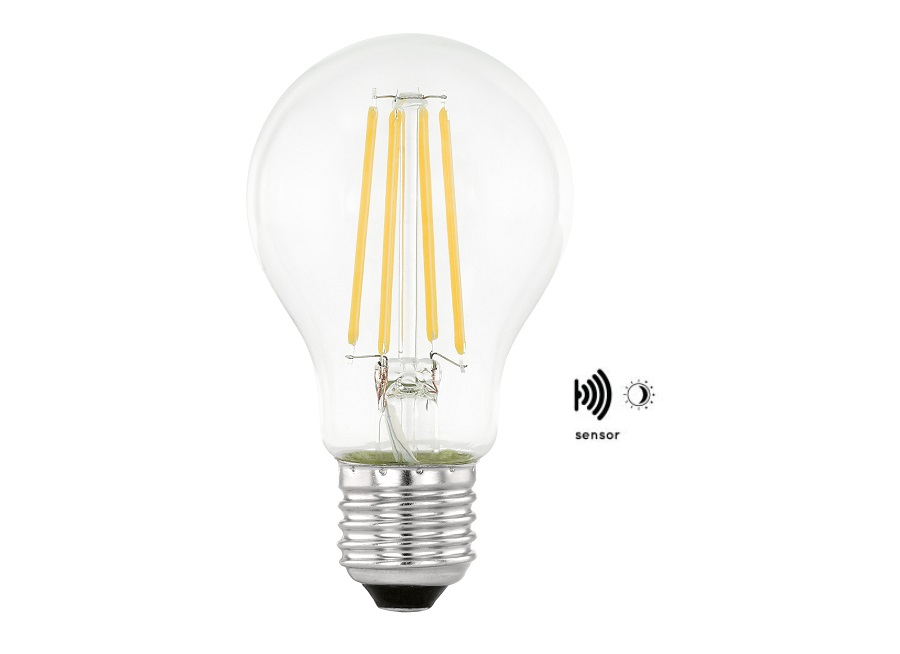 Ledlamp - E27 - 806lm - helder - Dag en Nacht sensor