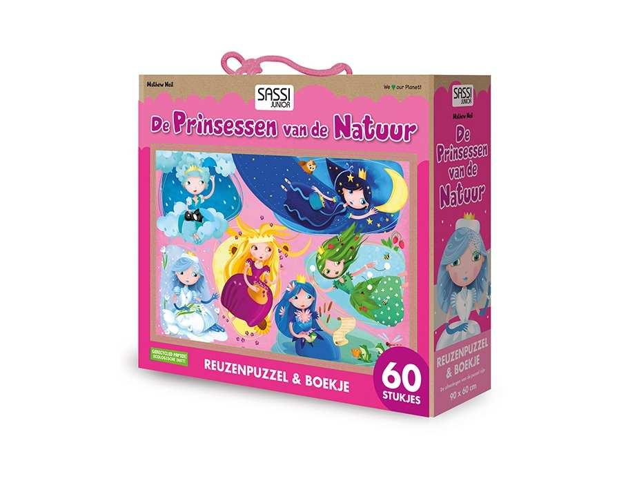 Puzzel en boek - Prinsessen van de natuur