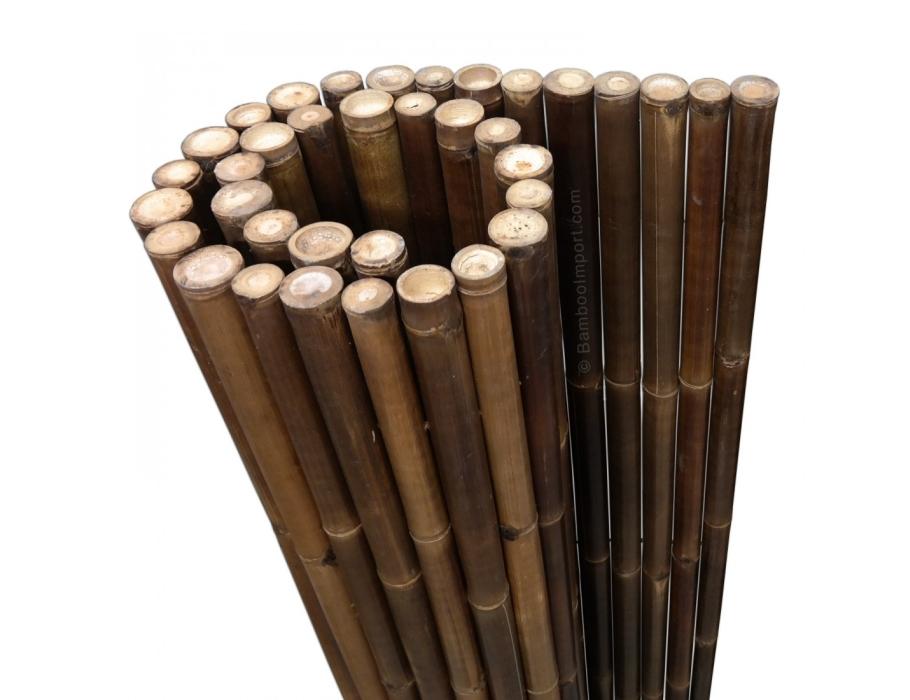 Bamboemat - Zwart Deluxe