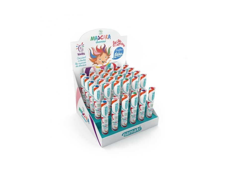 Kinder Haarkleur - Display - 24 st + 6 testers