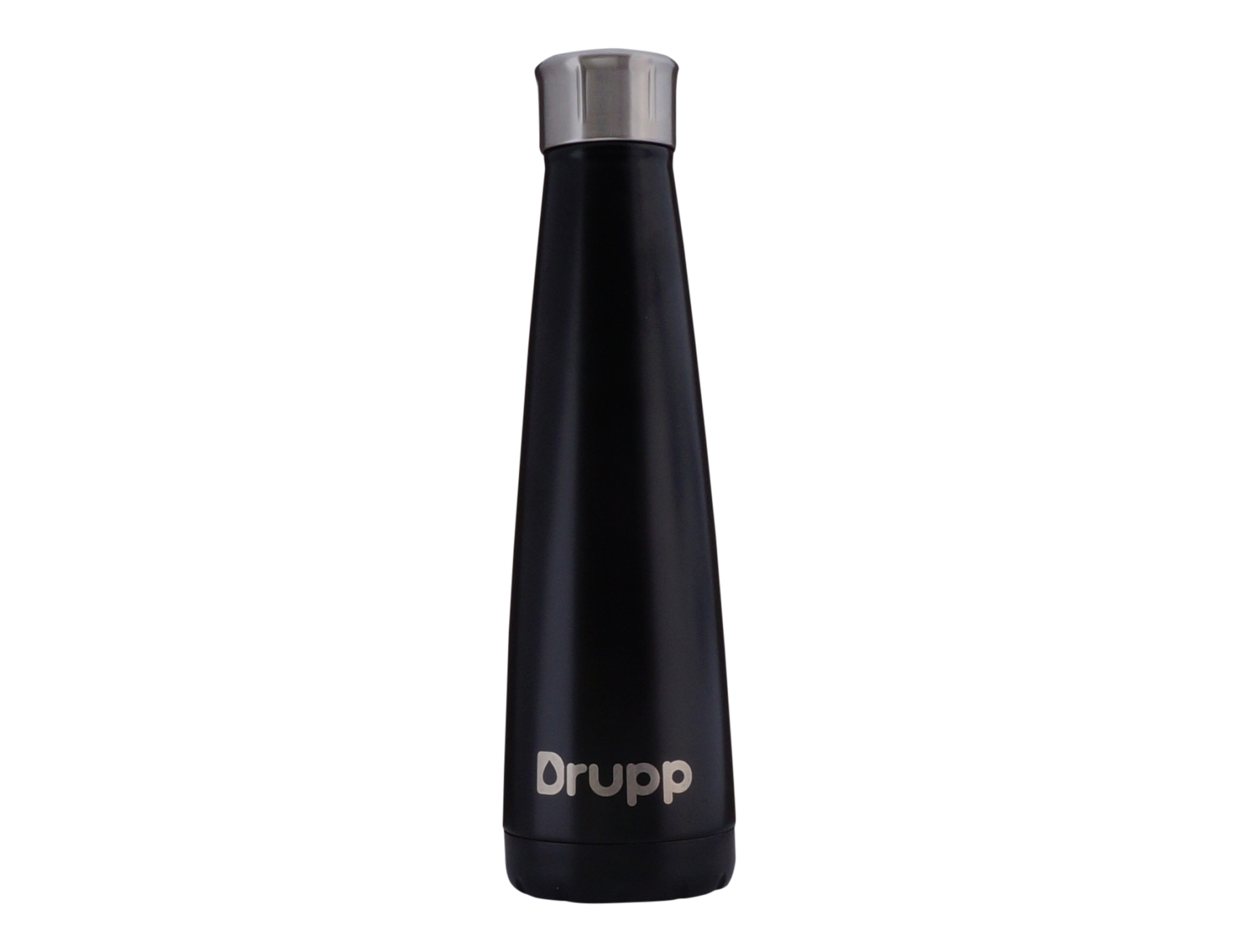 Drupp luxe thermosfles zwart