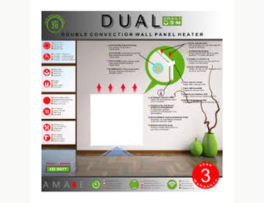 Amaze elektrisch verwarmingspaneel Dual 420W