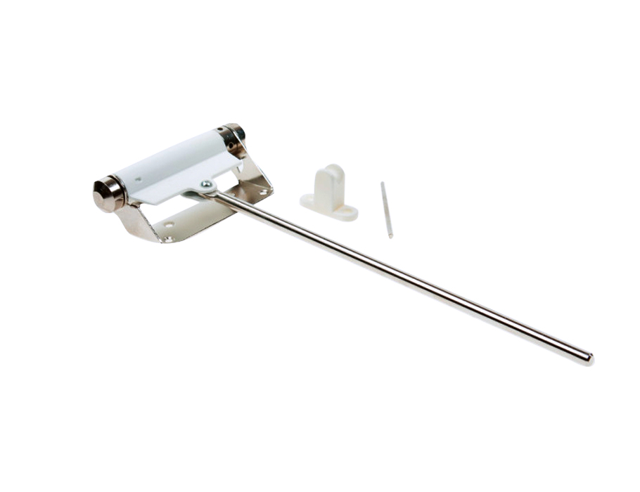 Deurdranger - 90 mm - Zwaarte 1-2 - Wit